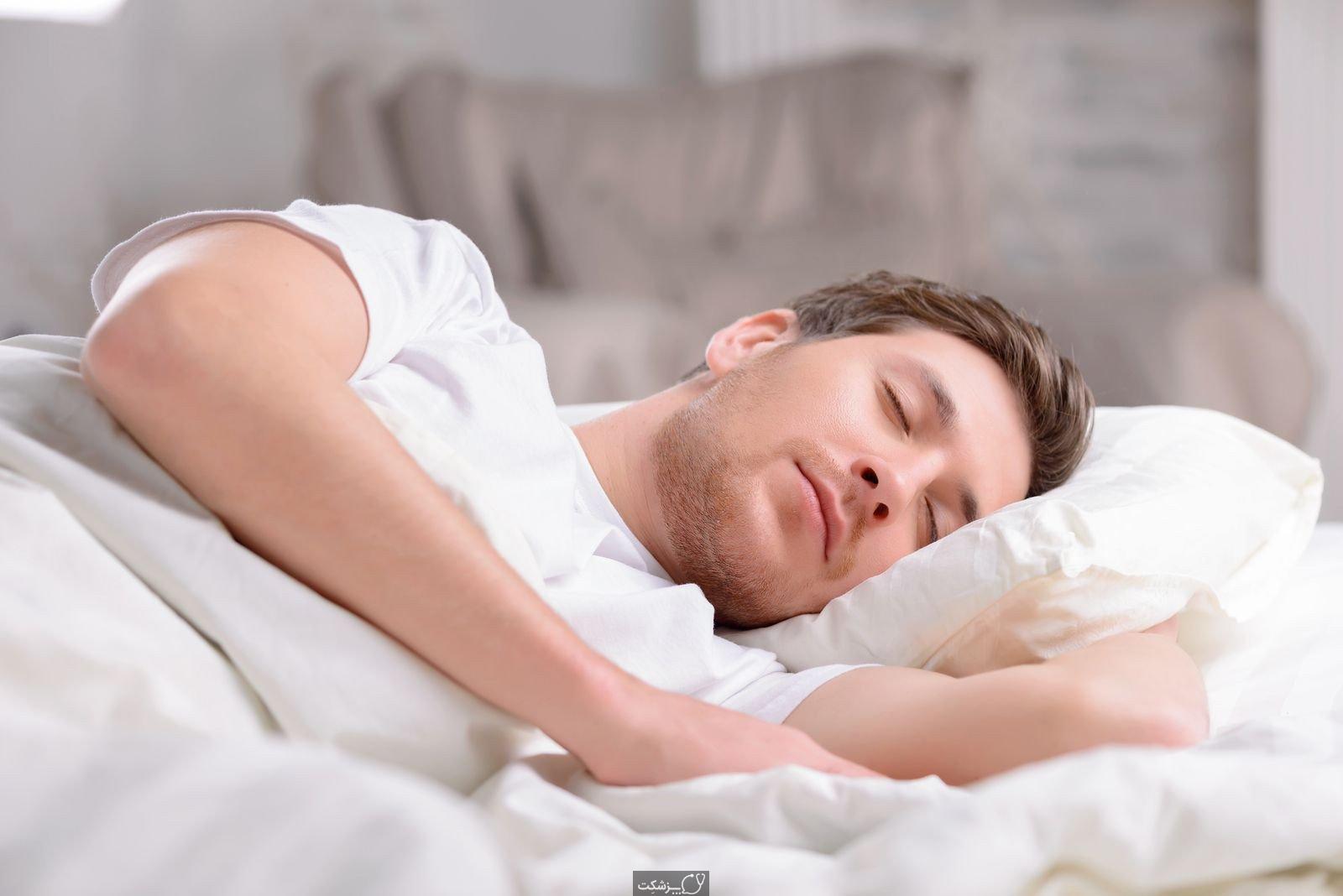 کاهش گاز معده در خواب | پزشکت