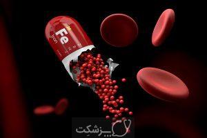 کم خونی فقر آهن | پزشکت