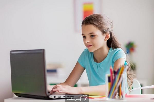 نقش والدین در آموزش آنلاین | پزشکت