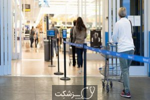 خطر کرونا در بین کارمندان فروشگاه ها | پزشکت
