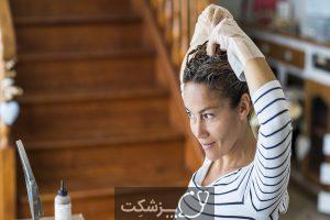 رنگ کردن موها با داروهای خانگی   پزشکت