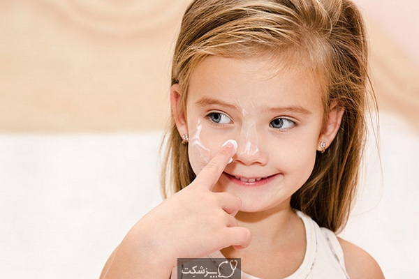 خشکی پوست در کودکان | پزشکت