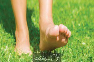 فواید پیاده روی با پای برهنه روی چمن | پزشکت