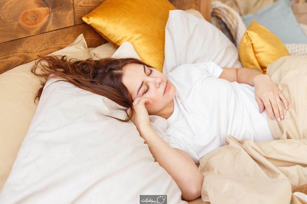 خوابیدن با سوتین   پزشکت