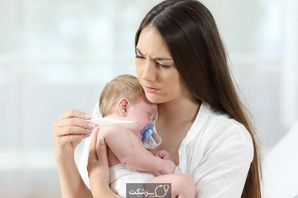تب پس از واکسیناسیون در نوزادان| پزشکت