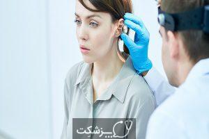 تجمع مایع در پشت پرده گوش | پزشکت