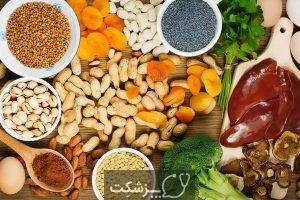 20 غذای گیاهی آهن دار