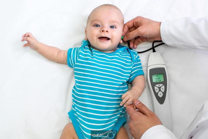کاهش شنوایی در نوزادان | پزشکت