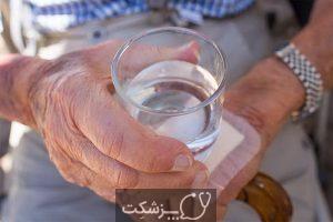 کم آبی بدن در سالمندان از علل تا علائم آن   پزشکت