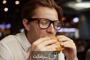 چرا بعد از غذا خوردن عرق می کنیم؟   پزشکت