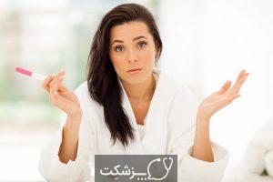 کمرنگ بودن تست بارداری نشان دهنده چیست؟   پزشکت